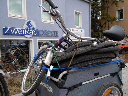 Neue Materialspende für den Fahrrad-CLUB