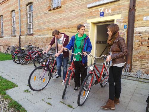 Leihräder für das Grandhotel