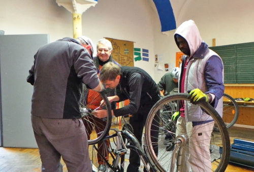 Mobile Fahrradwerkstatt