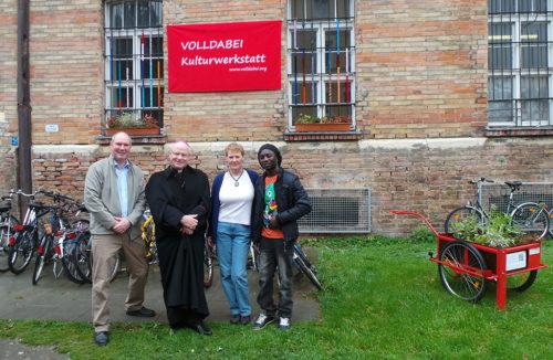 Bischof Konrad zu Besuch