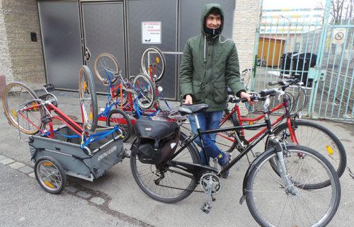 Fahrräder für die Ottostraße