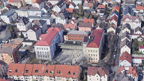 Helmut Haller und die Martinschule